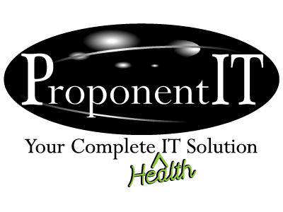 Proponent IT Logo Your Complete Health IT Solution